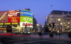 Piccadilly Circus Piccadilly Circus, Sanya, The Fosters, Times Square, Relax, England, Places, Travel, City