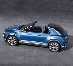 Volkswagen T-ROC concept car