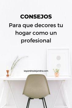 Feng Shui, Ideas Para, Home Goods, Organization, Interior Design, Blog, House, Home Decor, Home Decorations