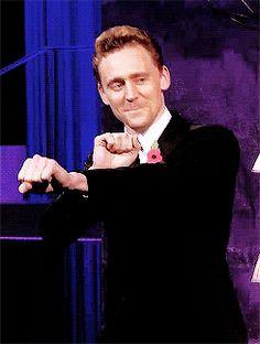 Tom Hiddleston Dancing GIF - TomHiddleston Dancing - Discover & Share GIFs Thor's ended up Tom Hiddleston Dancing, Tom Hiddleston Funny, Tom Hiddleston Gentleman, Loki Marvel, Marvel Actors, Hades, Gifs, Man Thing Marvel, Thomas William Hiddleston