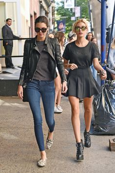 Kendall and Hailey heading to The Mercer Kitchen in New York yesterday pic.twitter.com/lusADhmfdI