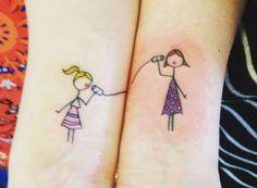 Los mejores tatuajes para hermanas.