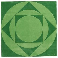 Carpet mod. VP02 - design Panton Verner - DesignerCarpets