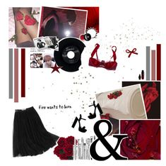 """""""'            love will only tear us apart"""" by nickianna ❤ liked on Polyvore featuring Fleur of England, CHESTERFIELD, Chanel, Edward Bess, Lancôme and WithChic"""