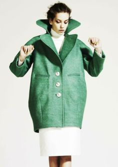 Make a statement with your coat from PAPER London