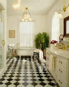 black and white tile kitchen farm style 86 best floors for bath images the tiles are great dream bathrooms beautiful tiled master
