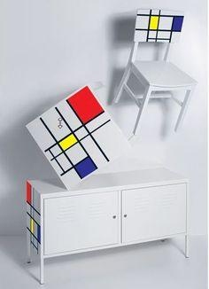 Mondrian Ikea Hack