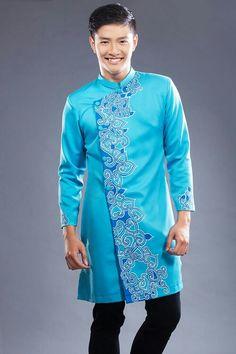 Vietnamese Men, Vietnamese Dress, Vietnamese Traditional Dress, Traditional Dresses, Ao Dai Men, Mens Ethnic Wear, Kurta Men, Sherwani, Kurta Designs