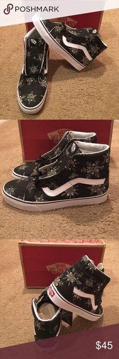 d3d172b6e Van Doren Sk8Hi Reissue New in box. Skull Snowflake black Vans Shoes  Sneakers Tenis