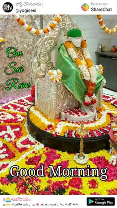 Free Good Morning Images, Good Morning Messages, Good Morning Happy Thursday, Sai Baba Photos, Om Sai Ram, Morning Greetings Quotes, Birthday Cake, Desserts, Food