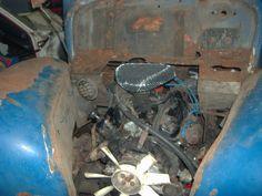 Erster Motorisierungsversuch: Ford V6 - inzwischen verworfen
