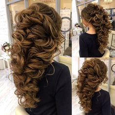 Bride hair inspiration #bridal #hairdo