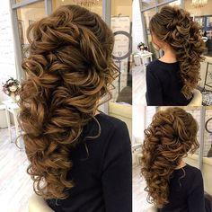 Bride hair inspiration #bridal #hairdo