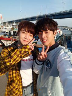 Jinho e Hongseok