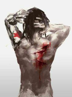 Bucky Barnes - Damaged