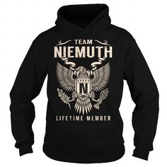 Cool Team NIEMUTH Lifetime Member - Last Name, Surname T-Shirt Shirts & Tees