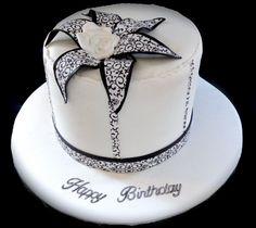 Damask Flower Cake