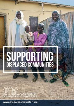 New brochure: Supporting Displaced Communities Forced Migration, Vulnerability, Community, Baseball Cards, News, Health, Health Care, Salud
