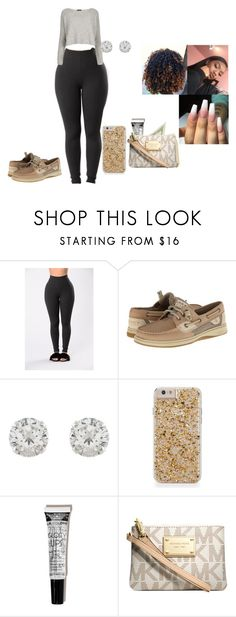 """""""Work and School is too much"""" by chanel-xoxo123 ❤ liked on Polyvore featuring Sperry, Accessorize and Michael Kors"""