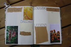 Bullet journal #5 - Juni, weekly spread Weekly Spread, Juni, Bullet Journal, Dreams, Blog, Handmade, Diy, Hand Made, Bricolage