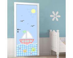Ενα μικρό καράβι ,αυτοκόλλητο πόρτας παιδικό Kids Rugs, Home Decor, Decoration Home, Kid Friendly Rugs, Room Decor, Interior Decorating