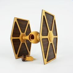 I designed and created the TIE Fighter Box for a Star Wars themed art Exhibit that happened in May. Tie Fighter, Wood Turning, Wooden Toys, Star Wars, Projects, Sci Fi, Craft Ideas, Cool Ideas, Templates
