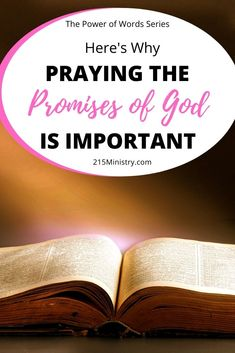 Words matter and when you find out the best words to pray over your life, you'll be praying them all the time! Start today praying God's Word over your life.