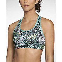 6bb6acef3c The Nike Pro Core Fierce Mezzo Compression Women s Sports Bra.
