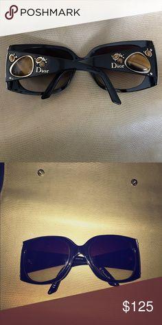 Christian Dior Sunglasses Authentic Black Dior black sunglasses Christian Dior Accessories Sunglasses