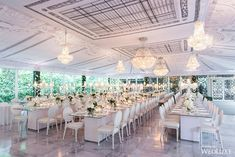 WedLuxe– A Spectacular Backyard Wedding at Home | Photography By…