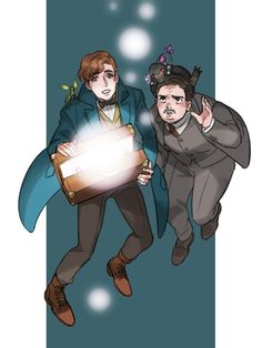 Newt & Jacob (Fantastic Beasts)