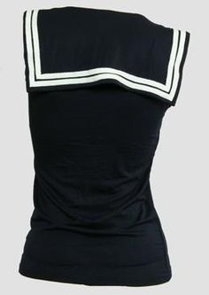#TS U #navy #Top #Sailor #Top #doit #wearit #loveit  Do you adore promotions? Don't miss out! Get YOUR super nice 15% discount code: http://eepurl.com/boSy7H