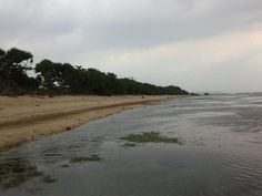 Pantai Sayang Heulang in Garut, Jawa Barat