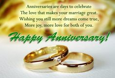 Anniversary Quotes For Friends (Wedding Anniversary Wishes For Friends) Anniversary Message For Friend, Happy Marriage Anniversary Quotes, Anniversary Quotes For Friends, Happy Wedding Anniversary Wishes, Anniversary Cards, Anniversary Greetings, Birthday Wishes, Birthday Greetings, Aniversary Wishes