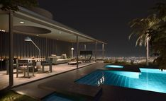 Kettal Presents the VDL Penthouse by Dion & Richard Neutra Richard Neutra, Frank Lloyd Wright, Outdoor Lounge, Outdoor Seating, Outdoor Living, Suite Principal, Outdoor Brands, Casa Real, Zaha Hadid Architects