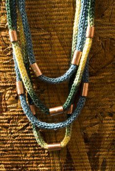 tejido crochet + Cu + Ag