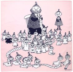 ◉◡◉ Writer and artist Tove Jansson come from Finland ◉◡◉ - Finland is country between Sweden and Russia ◉◡◉ ◉◡◉ ◉◡◉ in finnish this pictures characters are: (mother and children) Big Mymmeli, Mymmeli, Little My and little sisters and brothers ◉◡◉ Tove Jansson, Moomin Valley, Little Brothers, Children's Book Illustration, Totoro, Belle Photo, Illustrations Posters, Fairy Tales, Character Design