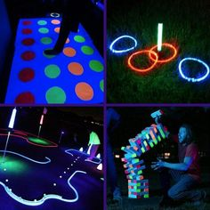 9 Blacklight And Glow In The Dark Game Night Ideas - Container Water Gardens Neon Birthday, Birthday Party For Teens, Birthday Party Themes, Birthday Board, 16th Birthday, Birthday Ideas, Glow In Dark Party, Glow Stick Party, Glow Sticks
