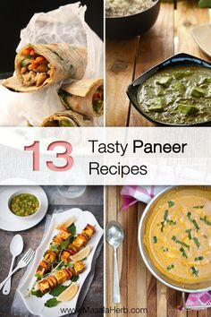 Discover 13 tasty Paneer Recipes and pick your favorite. >>> With exclusive new paneer dish ideas.