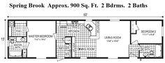 Less Than 1,000 sq.ft. Floor Plans