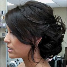 Up do for prom! maybe more volume on top though...