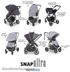 Bought Valco Baby Snap Ultra Stroller for my baby.