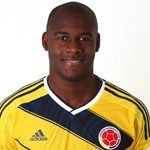 Victor Ibarbo of Colombia poses