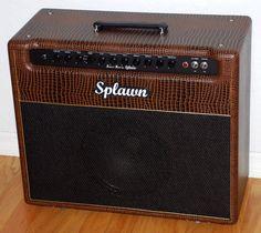 Splawn Street Rod 40w 1x12 Combo Amplifier - Gator Skin Tolex - Upgraded Celestion 65w Creamback Speaker!  http://www.jelyfingerguitars.com/cart.php?target=product&product_id=766&category_id=102