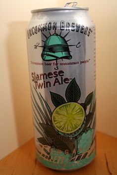 Uncommon - Siamese Twin Ale    Wow - real interesting beer. LIKE