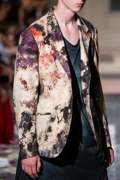 Yoji Yamamoto, Painted Wardrobe, Japanese Fashion Designers, Purple Ribbon, Japanese Design, Fashion Forward, Style Me, Cool Outfits, Menswear