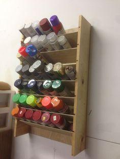 Paint Organization, Garage Organisation, Garage Tool Storage, Workshop Storage, Garage Tools, Shed Storage, Garage Workshop, Workshop Organization, Garage Shop