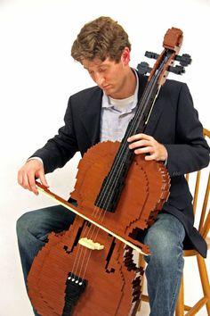 LEGO cello!