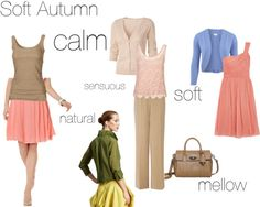 """""""Soft Autumn - an excercise"""" by silverwild on Polyvore"""
