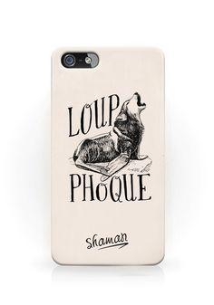 """Coque """"Loup phoque"""""""